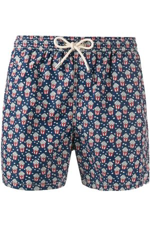 MC2 SAINT BARTH Popcorn print swim shorts