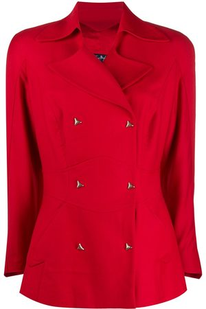 Thierry Mugler 1980s double-breasted fitted blazer