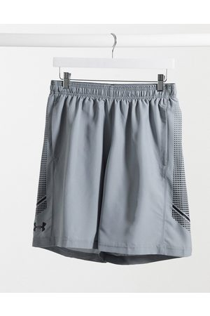 Under Armour Woven graphic shorts in grey