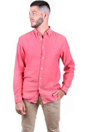 Tommy Hilfiger Muži Košile - Pánská košile Multi Dobby