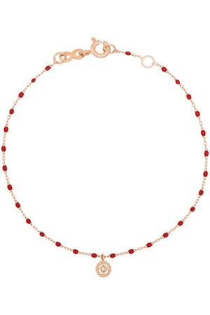 GIGI CLOZEAU 18kt gold Lucky diamond beaded bracelet