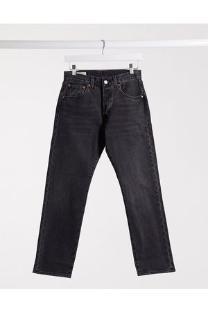 Levi's Muži Rovné nohavice - Levi's 501 '93 cropped straight fit jeans in washed black
