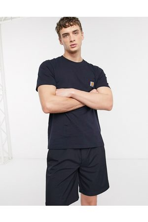 Carhartt Pocket t-shirt in navy