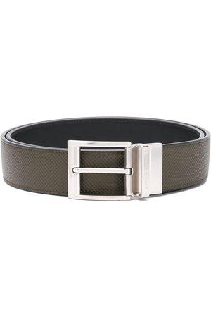 Bottega Veneta Reversible textured leather belt