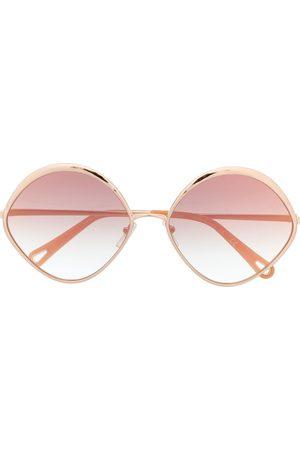 Chloé Oval frame sunglasses