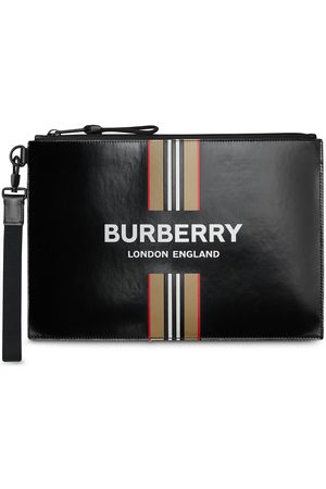 Burberry Icon Stripe logo-print wallet