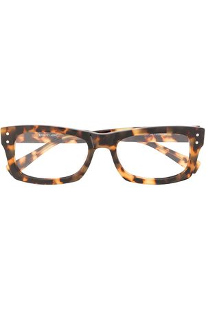 EPOS Tortoiseshell-effect rectangular-frame glasses