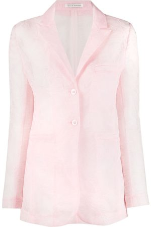 Cecilie Bahnsen Lace embroidered blazer