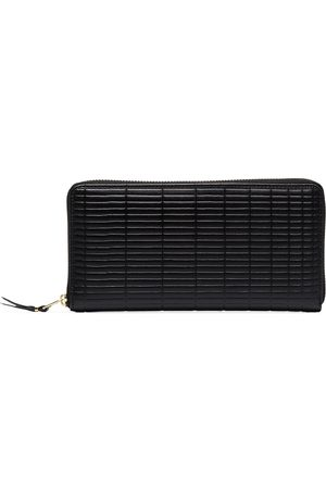 Comme des Garçons Black brick large leather wallet
