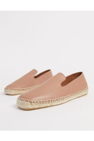 Whistles Cannon square toe espadrilles in beige