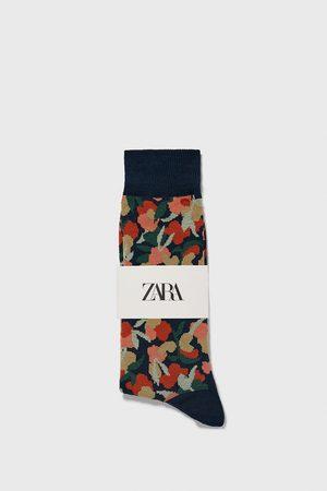 Zara Ponožky s květinovým žakárem