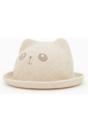 Zara Slaměný klobouk s oušky