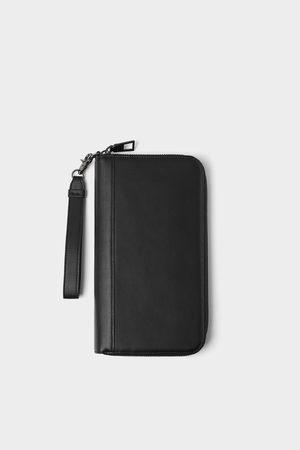 Zara černá peněženka xxl