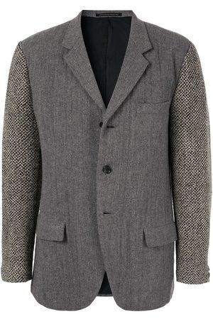 YOHJI YAMAMOTO Heavy knit arm blazer