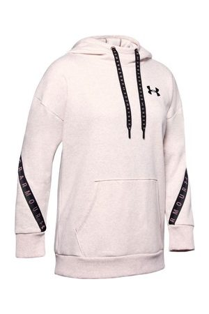Under Armour Mikiny Fleece Hoodie Taped WM