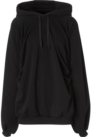 Burberry Oversized gathered hoodie