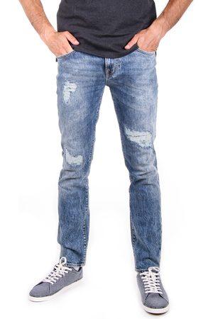 Guess Muži Džíny - Pánské modré džíny Angels