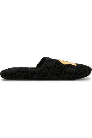 VERSACE Pantofle - Medusa terricloth slippers