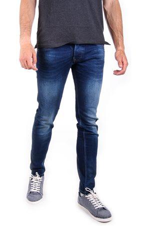 Pepe Jeans Muži Tepláky - Pánské tmavě modré džíny Track