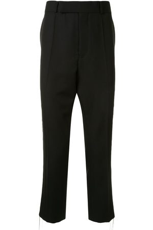 Haider Ackermann Chain detail wool trousers