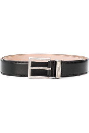 Alexander McQueen Logo engraved belt