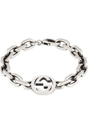 Gucci Sterling silver Interlocking G bracelet