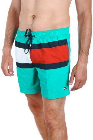 Tommy Hilfiger Pánské zelené plavky Medium