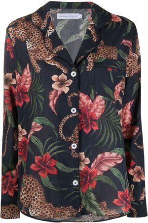 Desmond & Dempsey Ženy Spodní prádlo soupravy - Soleia long pyjama set