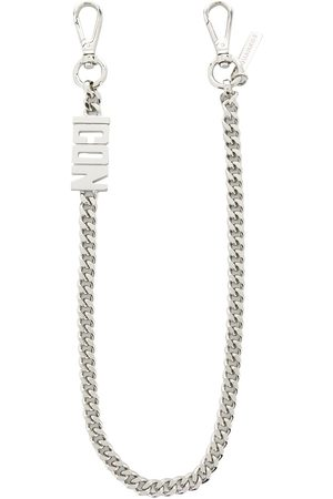 Dsquared2 ICON faceted chain keyring