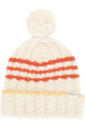 BAPY BY *A BATHING APE® Cable-knit beanie