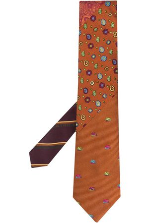 Etro Patterned silk tie