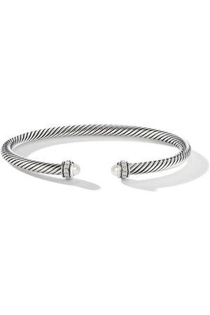 David Yurman Diamond pearl cable bangle