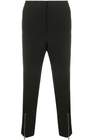 Alexander McQueen Zip-detail straight-leg trousers