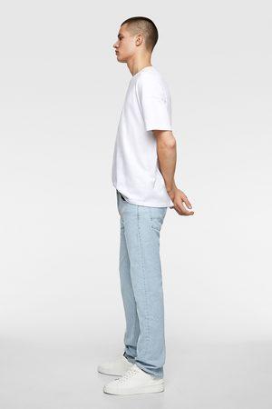 Zara Džíny basic slim straight