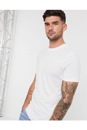 New Look Muži S krátkým rukávem - Muscle fit t-shirt in white