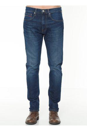 Tommy Jeans Muži Džíny - Pánské tmavě modré džíny Modern
