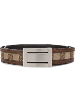 Gucci 1970s GG logo belt