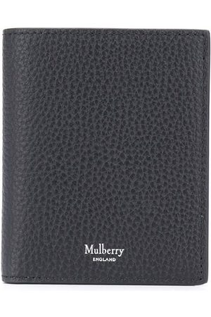 MULBERRY Logo-stamp tri-fold wallet
