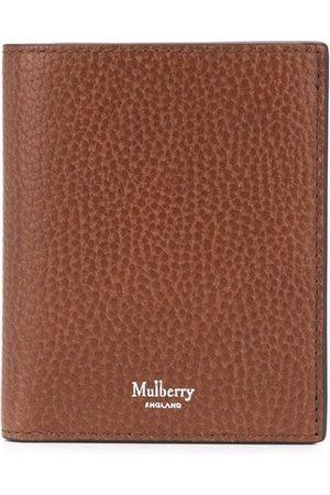 MULBERRY Logo-stamp tri-fold wallet
