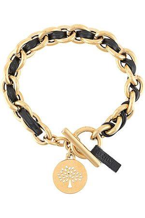 MULBERRY Ženy Náramky - Medallion leather chain bracelet
