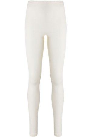 Hanro Ženy Legíny - Knitted stretch fit leggings