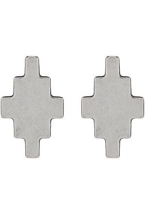 MARCELO BURLON Cross pendant earrings