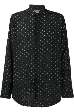 Saint Laurent Anchor print shirt