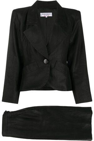 Yves Saint Laurent Slim-fit skirt suit