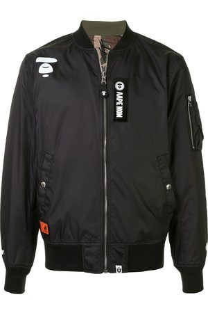 AAPE BY *A BATHING APE® Patchwork bomber jacket
