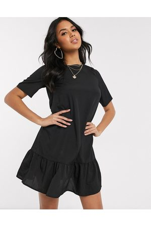 Ax Paris Ženy Plesové - Drop hem smock dress in black