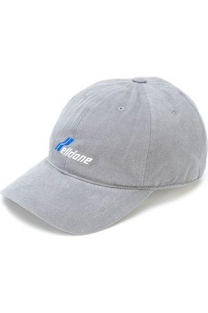 We11 Done Logo embroidered baseball cap