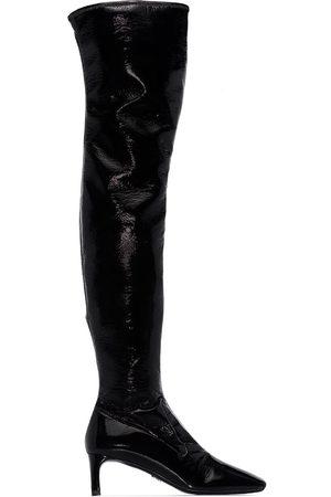Prada 55mm knee-length boots