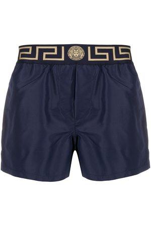 VERSACE Logo swim shorts
