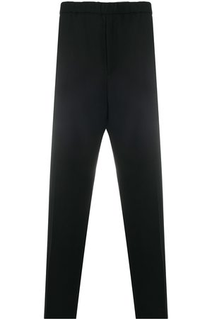 Jil Sander Elasticated-waist straight trousers